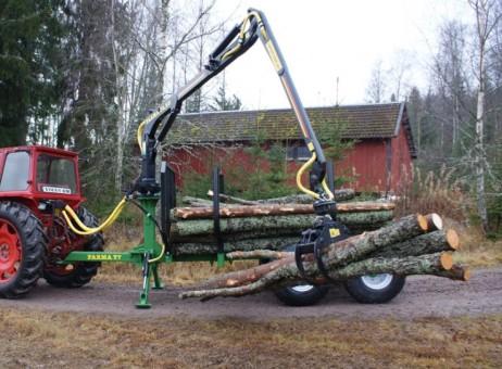 Hydraulický jeřáb Farma C 4,6 D