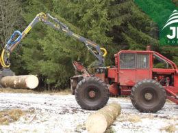 Hydraulická ruka FARMA C 6,3G2 a LKT 81