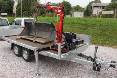 Hydraulický jeřáb Maxilift