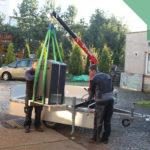 hydraulický jeřáb