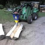 Štípací kužel na dřevo