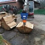 Štípací kužel za traktor Deitmer