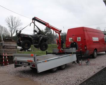 Hydraulický jeřáb Maxilift ML 150