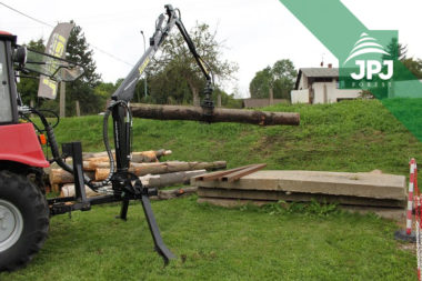 Hydraulická ruka Vahva Jussi 320 do 3bodu malotraktoru Belarus, Královéhradecký k.