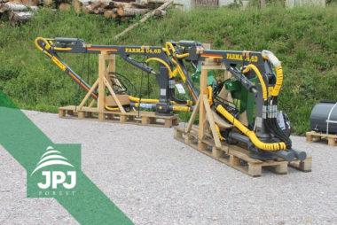 Hydraulické ruky FARMA C 4,6D - dodání pro výrobce lesnické techniky