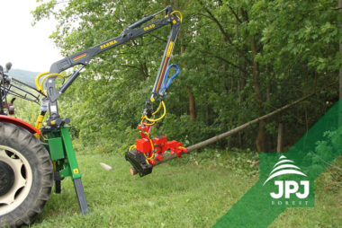 hydraulická ruka na traktor C 6,3G2