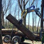 Hydraulická ruka Farma C 5,0 G3 pro vyvážečky dřeva