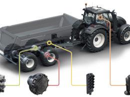 Kompletní systém pohonů Black Bruin